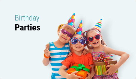 Kids Birthday Parties at Trix Acro Gym
