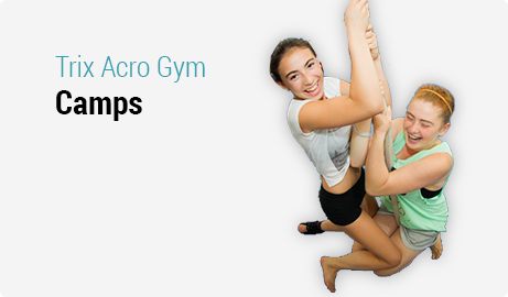 Kids Camps at Trix Acro Gym
