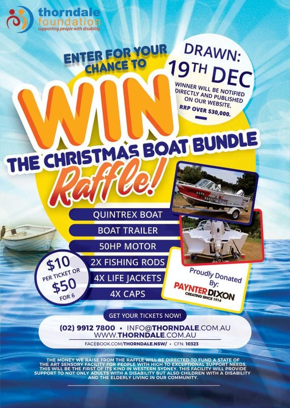 Christmas Boat Bundle Raffle