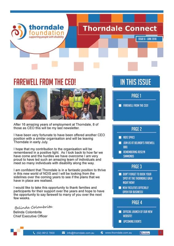 Thorndale Connect Issue 6
