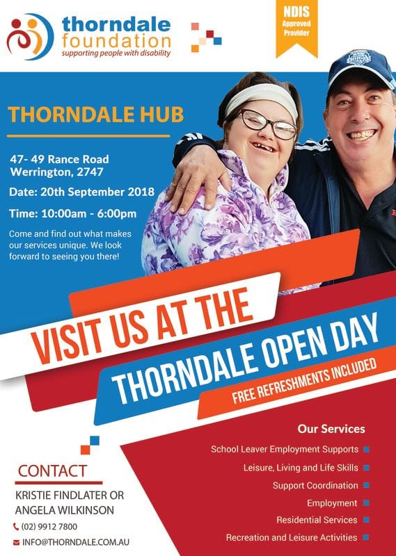Thorndale Open Day!