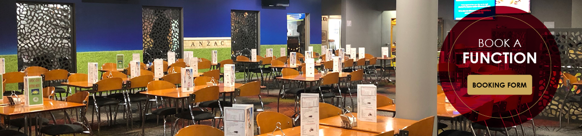 Book a function at Ayr Anzac Memorial Club