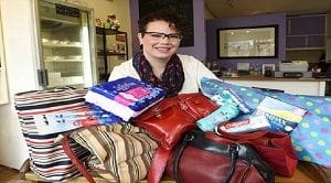 Period Purse; Toronto woman helping homeless with hygiene products