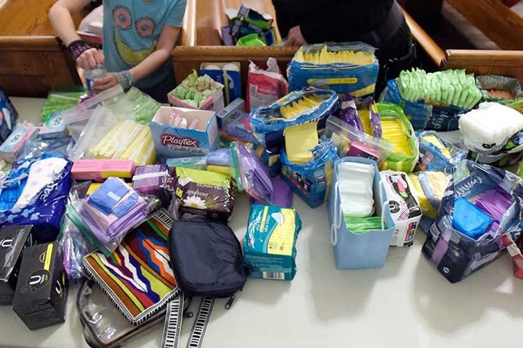 The Period Purse Packing Party