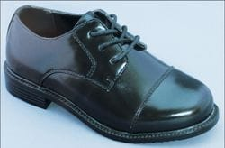 MAVEZZANO-Black Round Toe Dress Shoe