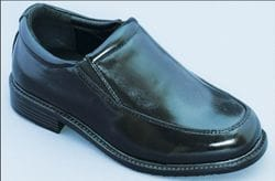 MAVEZZANO-Black Slip On Dress Shoe