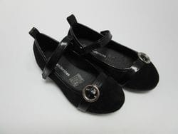 TENDERTOES- Back Suede Flats