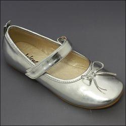 JOLENE- Silver Ballet Shoe
