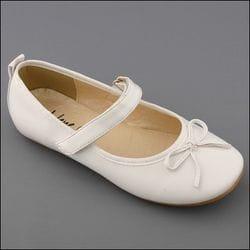 JOLENE- White Ballet Shoe