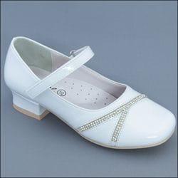 JOLENE- White Diamond Heel