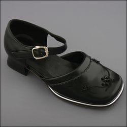 JOLENE- Black Chunky Heel