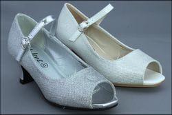 JOLENE- Sparkle Open Toe Heels