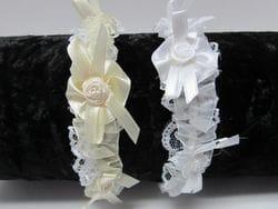 Ivory Infant headband