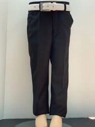 Mavezzano Slim Fit Dress Pant- BLACK