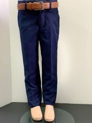Mavezzano Slim Fit Dress Pant- NAVY