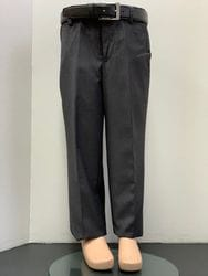 Mavezzano Regular Fit Dress Pant- CHARCOAL