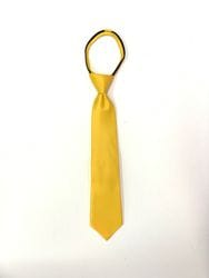 Yellow Zipper Tie