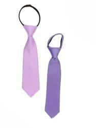 Lavender Zipper Tie