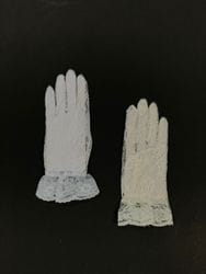 Lace Gloves- White or Ivory