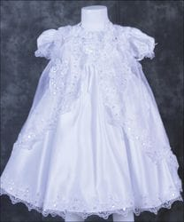Sequin Baptism dress