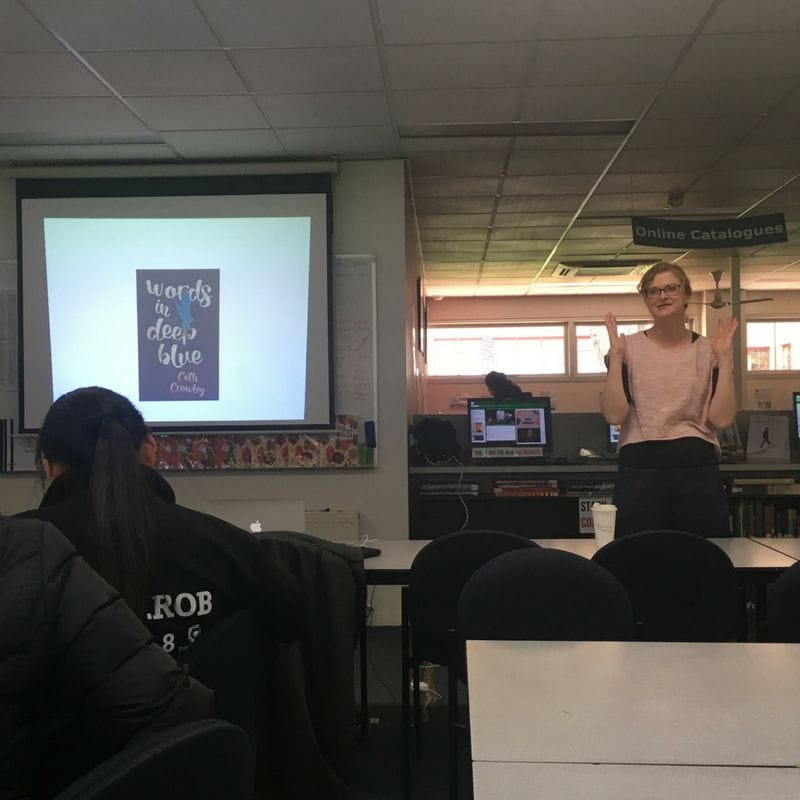 Author Visit: Cath Crowley