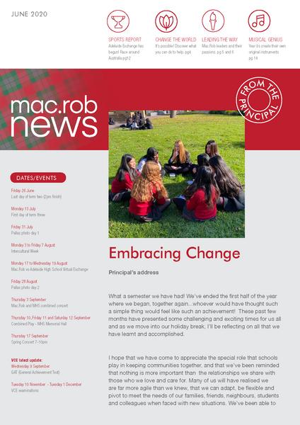 June Newsletter MacRob
