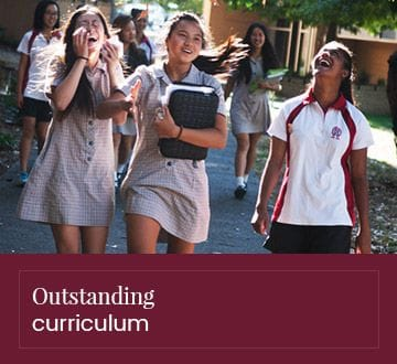 Outstanding curriculum