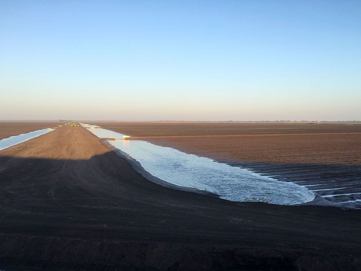 Irrigation Chanel Darling Downs By Simmich Earthmoving & Irrigation
