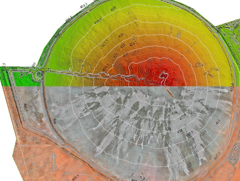 Periodic Volumetric & Change Analysis Surveys with UAV