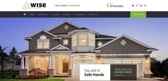 New Website Launched for Wise Builder