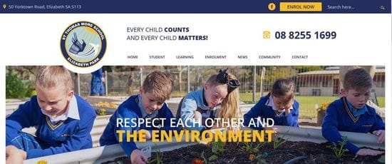 New Website Launched for St Thomas More School
