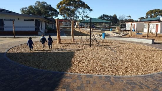 Nature play space opens!