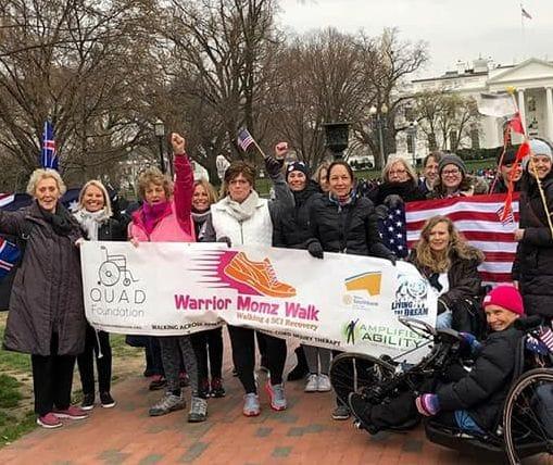Warrior Mum completes 7 million steps walking across America