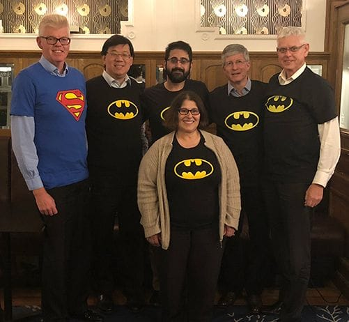 Cluster led by Bat Team and Superman