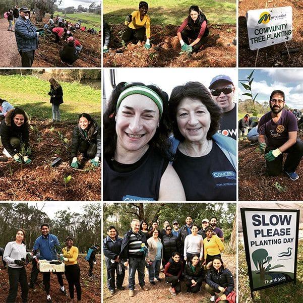 #PeopleofAction - Tree Planting Day & Run Melbourne Fundraiser