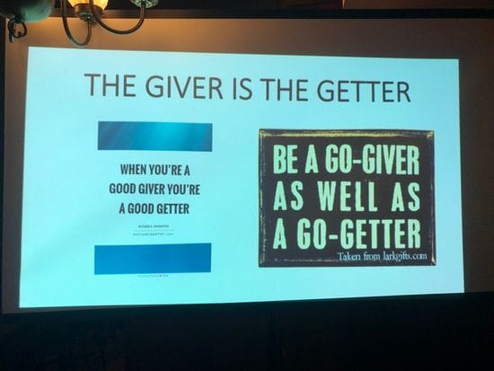 The Giver is the Getter