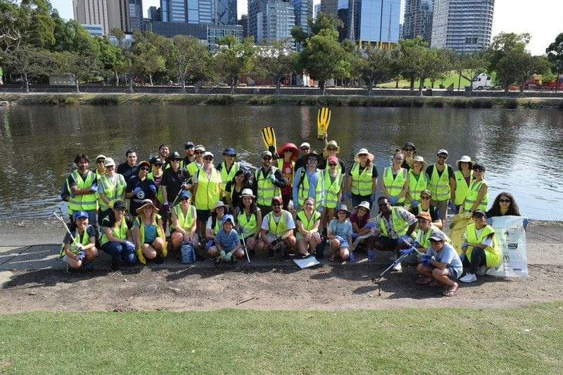 People of Action Unite for Clean Up Australia Day