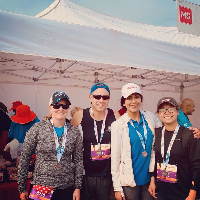 Highlights from MS Melbourne Cycle + 1/2 Marathon, Run/Walk 2019