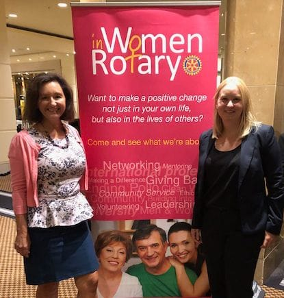 Women in Rotary Breakfast Report