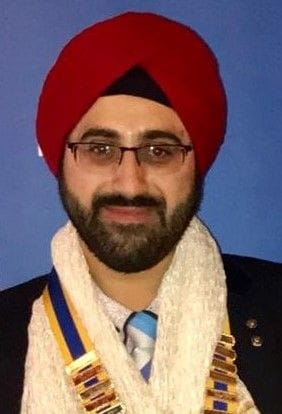 Amritpal Singh, President Rotary Club of Southbank (2018-2019)