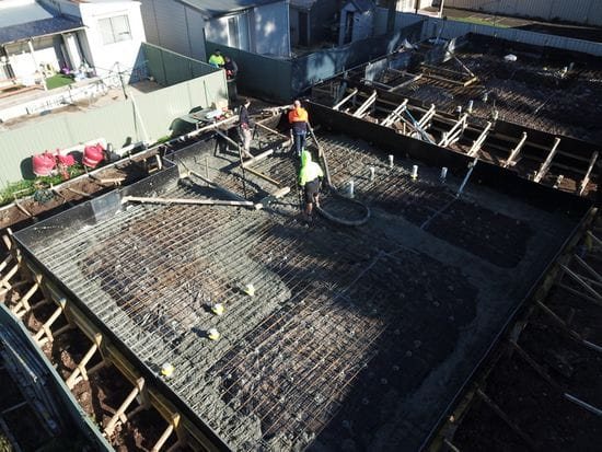 MGF Construction Process
