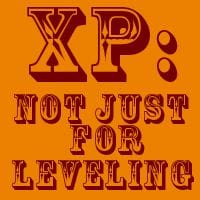 XP: not Just for Leveling Up (VP too)