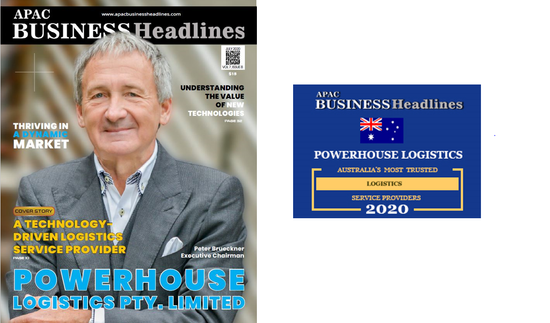 "POWERHOUSE Logistics - ""Australia's Most Trusted Logistics Service Provider"""