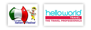 Aust Italian Festival and Helloworld