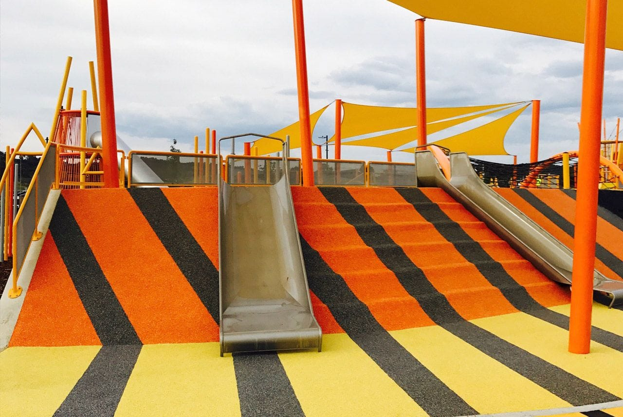 Moncrieff Community Recreational Park Canberra by Bruces Playgrounds