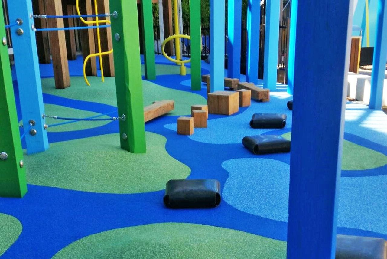 Highpoint Project Playground by Rubberworx