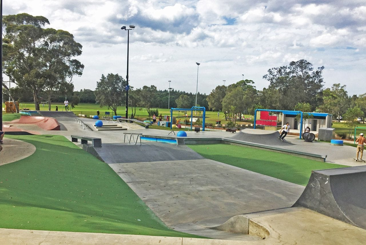 Bateau Bay Skate Park by Synthatech