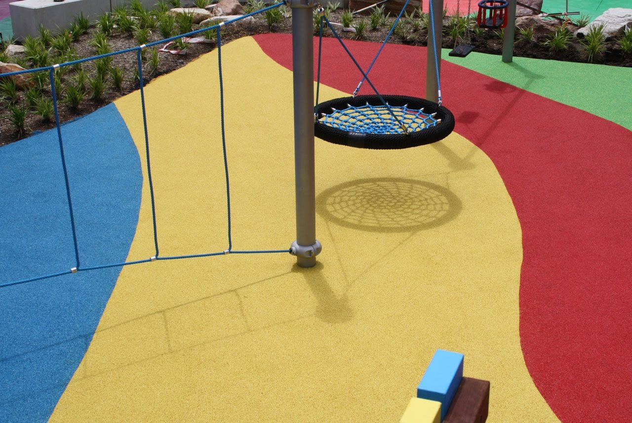 Wulaba Park by Synthetic Grass & Rubber Surfaces