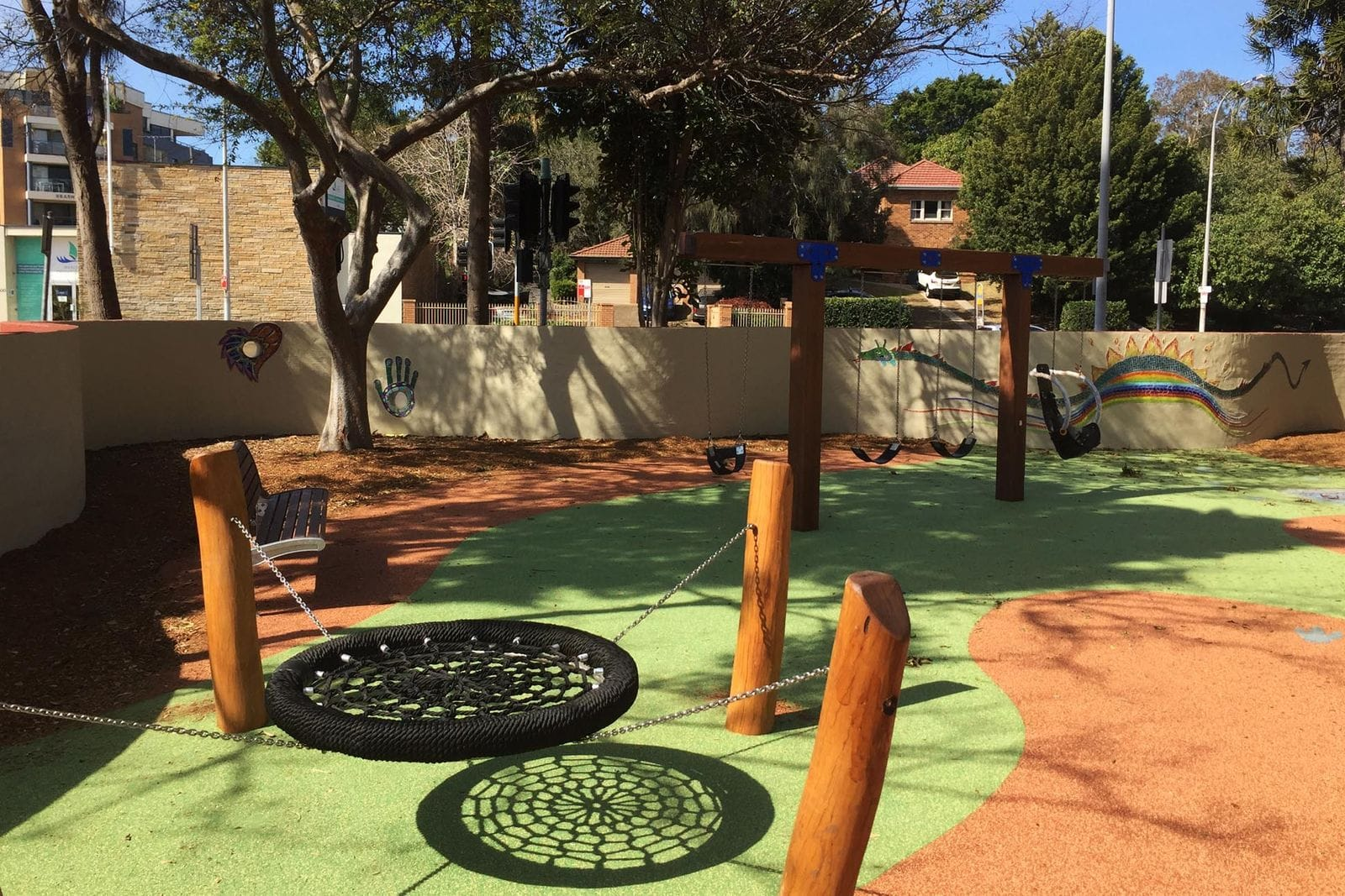 Narrabeen Tram Shed Playground by Wetpour
