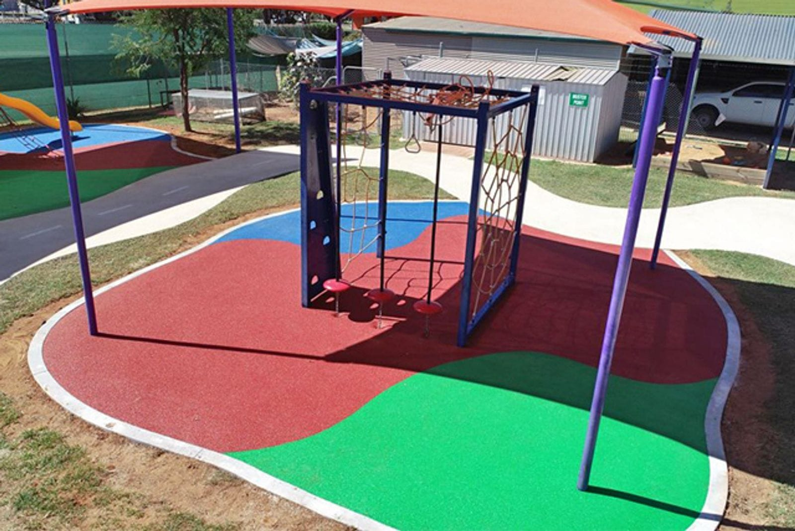 Kintore Street School, NT by NT Sports and Playground Surfacing